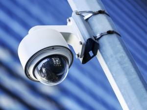 Sikkerhedskameraer er en del af TV Overvågning